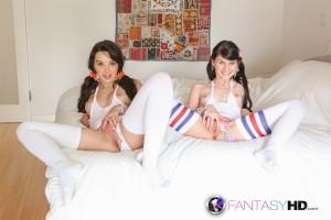 Fantasy HD Natalie Heart & Heather Night in Bad Schoolgirls